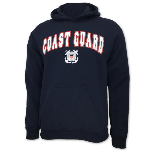 COAST GUARD ARCH SEAL HOOD 4
