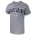 Coast Guard Arch Seal USA Made T-Shirt (Grey)