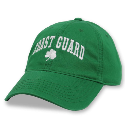 COAST GUARD ARCH SHAMROCK HAT 2
