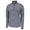 COAST GUARD ASPEN PERFORMANCE 1/4 ZIP (GREY HEATHER)