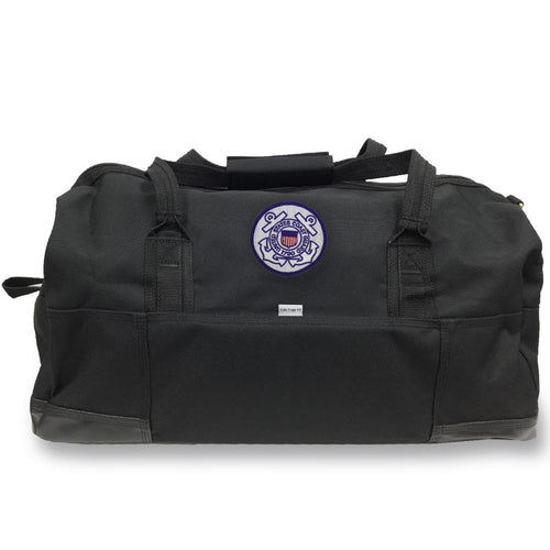 COAST GUARD CARHARTT GEAR BAG BLACK