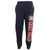 COAST GUARD CHAMPION FLEECE SWEATPANTS (NAVY) 3