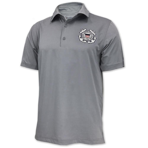 COAST GUARD CHAMPION SEAL POLO (GREY) 1