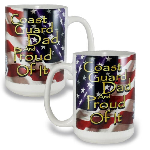 COAST GUARD DAD COFFEE MUG 4