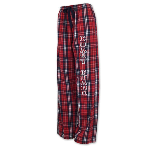 COAST GUARD FLANNEL PANTS (NAVY/RED) 7