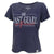COAST GUARD GIRLFRIEND LADIES LOOSE FIT V-NECK T-SHIRT (NAVY) 1