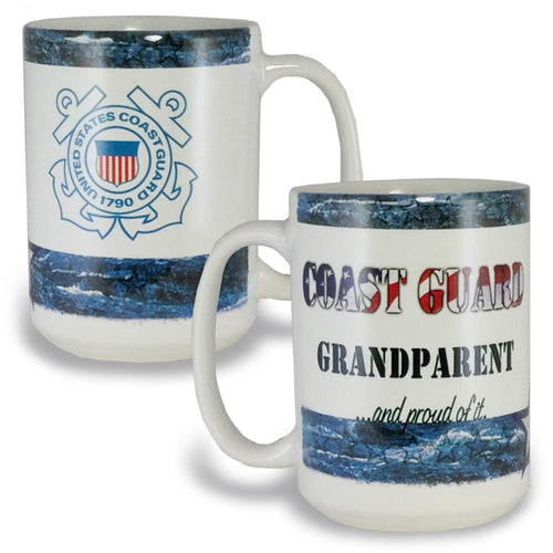 COAST GUARD GRANDPARENT COFFEE MUG 4