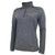 COAST GUARD LADIES ASPEN PERFORMANCE 1/4 ZIP (GREY HEATHER) 1