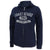 COAST GUARD LADIES DISTRESSED RELAX FULL ZIP (NAVY)