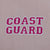 COAST GUARD LADIES FLEECE FULL ZIP (PINK) 2