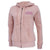 COAST GUARD LADIES FLEECE FULL ZIP (PINK) 1