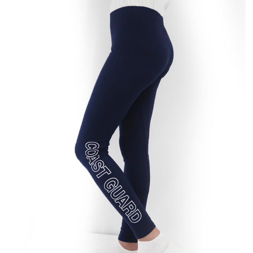 COAST GUARD LADIES LOVE 'EM LONGER LEGGINGS (NAVY) 3