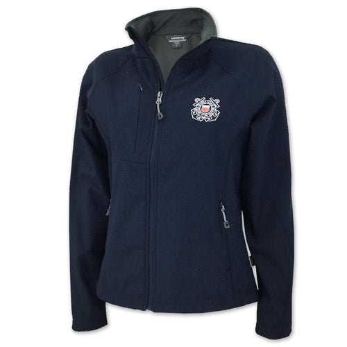 COAST GUARD LADIES SOFT SHELL JACKET 1