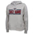 COAST GUARD LADIES UNDER ARMOUR SEAL LOGO ALL DAY FLEECE HOOD (GREY) 1