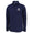 COAST GUARD MEN'S DOUBLE KNIT 1/4 SNAP (NAVY)