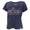 COAST GUARD MOM LADIES LOOSE FIT V-NECK T-SHIRT (NAVY) 1