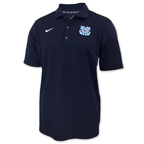 COAST GUARD NIKE VARSITY POLO (NAVY) 2