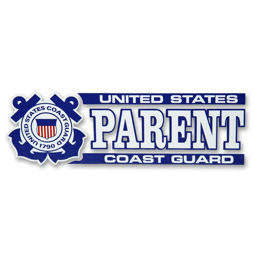 COAST GUARD PARENT DECAL 1