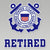 COAST GUARD RETIRED DECAL 1
