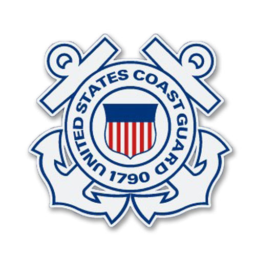 COAST GUARD SEAL DECAL 2
