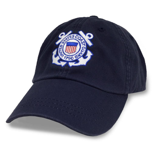 COAST GUARD SEAL HAT (NAVY) 5