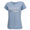 COAST GUARD SEAL LADIES MOM V-NECK T-SHIRT (LIGHT BLUE)