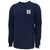 COAST GUARD SEAL LOGO LONG SLEEVE T-SHIRT (NAVY)