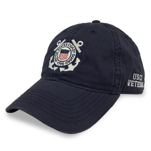 COAST GUARD SEAL VETERAN TWILL HAT (NAVY) 5