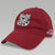 COAST GUARD SEAL VETERAN TWILL HAT (RED)