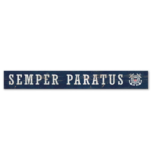 COAST GUARD SEMPER PARATUS DOORWAY SIGN 2