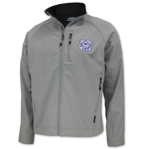 COAST GUARD SOFT SHELL JACKET (SILVER) 1