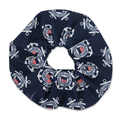 COAST GUARD SPIRIT SCRUNCHIE