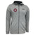 COAST GUARD UA ARMOUR FLEECE FULL ZIP HOODIE (GREY)