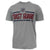 COAST GUARD UNDER ARMOUR SEAL LOGO TECH T-SHIRT (GREY) 1