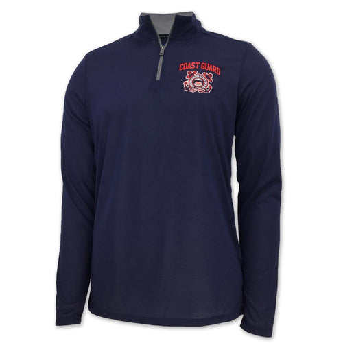 COAST GUARD UNDER ARMOUR THREADBORNE 1/4 ZIP (NAVY)