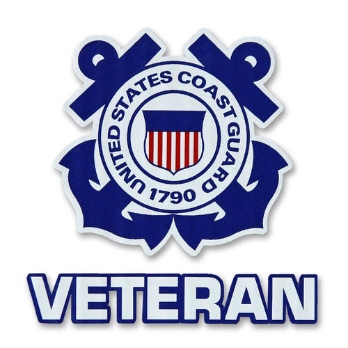 COAST GUARD VETERAN DECAL 1