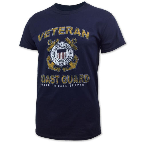 COAST GUARD VETERAN SEAL T-SHIRT (NAVY) 3