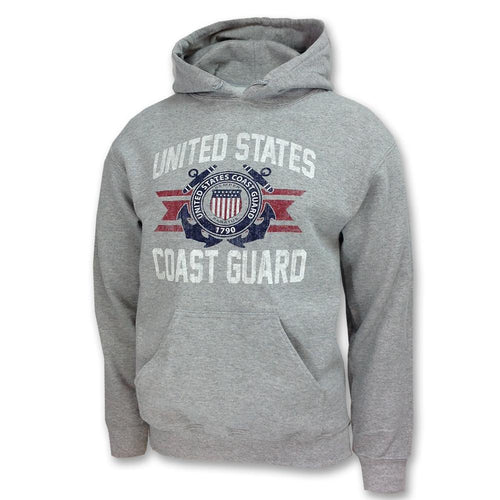 COAST GUARD VINTAGE BASIC HOOD 2