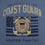 COAST GUARD VINTAGE STENCIL T-SHIRT (INDIGO BLUE)