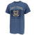 COAST GUARD VINTAGE STENCIL T-SHIRT (INDIGO BLUE) 1