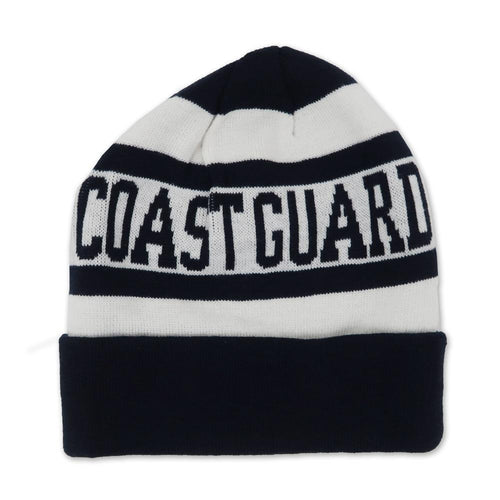COAST GUARD WOVEN WATCH CAP (NAVY)