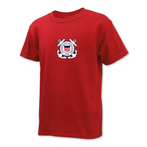 COAST GUARD YOUTH SEAL LOGO T-SHIRT