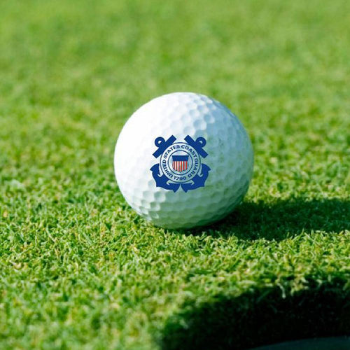 COAST GUARD SEAL GOLF BALL