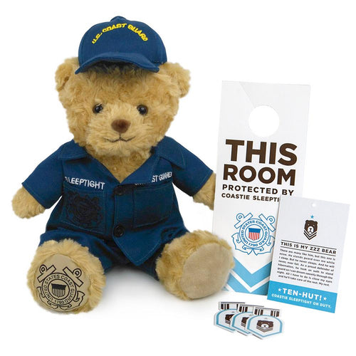 COASTIE SLEEPTIGHT OPERATIONAL DRESS UNIFORM BEAR 1