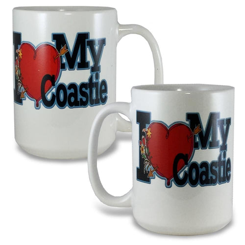 I LOVE MY COASTIE COFFEE MUG 3