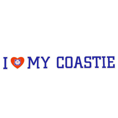 I LOVE MY COASTIE DECAL 1