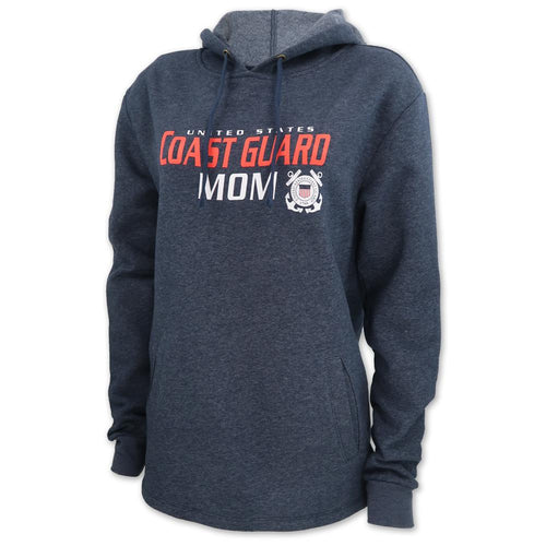 LADIES UNITED STATES COAST GUARD MOM HOOD (MIDNIGHT NAVY)