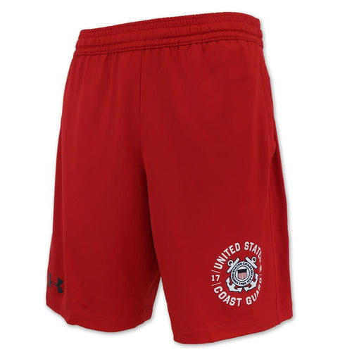 UNITED STATES COAST GUARD UNDER ARMOUR RAID SHORT (RED) 3
