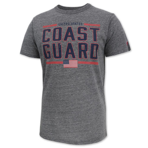 UNITED STATES COAST GUARD VICTORY FALLS T-SHIRT (HEATHER) 1