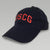 USCG ARCH HAT (NAVY/RED)